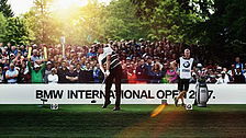 Weltklassegolf bei der BMW International Open.